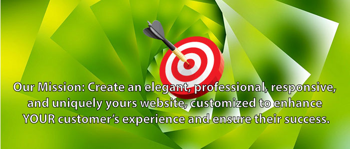 Premium website solutions for an elegant, professional, responsive, and uniquely yours website