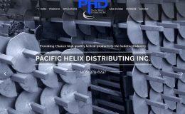 Pacific Helix Distributing - Schaper Consulting Web Design
